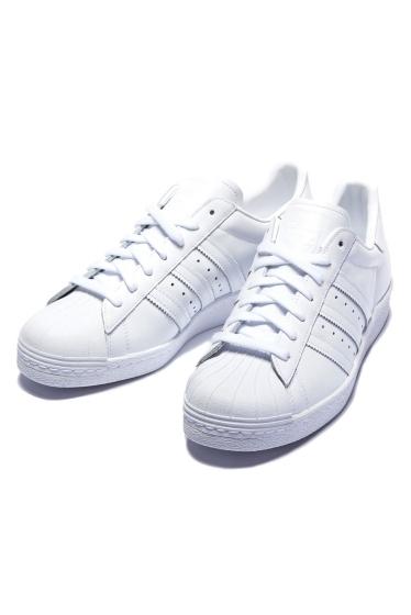 ���ԥå������ѥ� ��adidas�� SUPER STAR 80S �ۥ磻��
