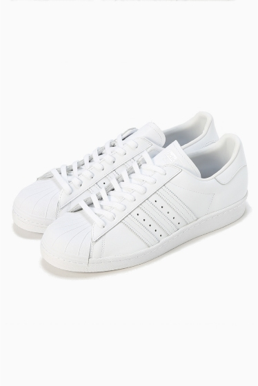 ���ǥ��ե��� adidas/superstar(�����ѡ�������)80s �ۥ磻��