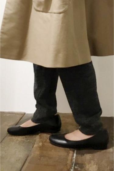���㡼�ʥ륹��������� ��å��� ��Fabio Rusconi /�ե��ӥ��륹�����ˡ�  Slip Shoes:�ե�åȥ��塼��(�쥶��)�� �֥�å�