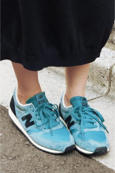���㡼�ʥ륹��������� ���塼�� ��New Balance/�˥塼�Х�� U420�� �֥롼 A