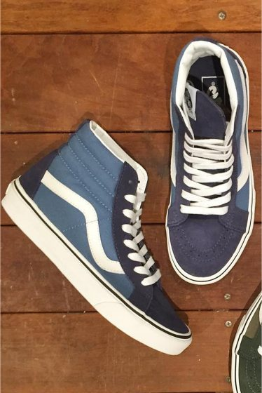 ���㡼�ʥ륹��������� ���塼�� ��VANS�� SK8-HI REISSUE���������ȥϥ��ꥷ�塼�� �֥롼 A