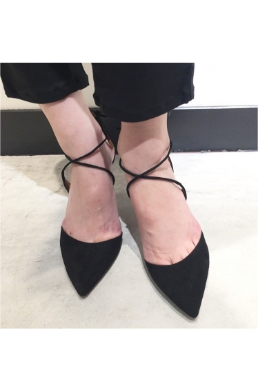 �ɥ����������� ���饹 AQUAZZURA 7.5cm���������ɥ졼��UP������뢡 �ܺٲ���11