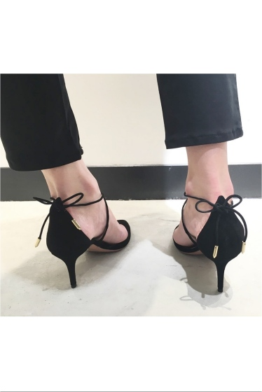 �ɥ����������� ���饹 AQUAZZURA 7.5cm���������ɥ졼��UP������뢡 �ܺٲ���13