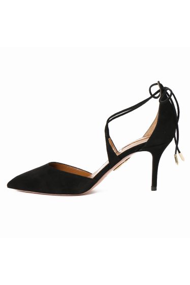 �ɥ����������� ���饹 AQUAZZURA 7.5cm���������ɥ졼��UP������뢡 �ܺٲ���2
