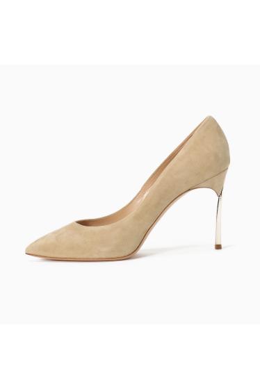 ���ѥ�ȥ�� �ɥ����������� ���饹 ��CASADEI(pre) 9cm Heel gold Heel Pumps �ܺٲ���1