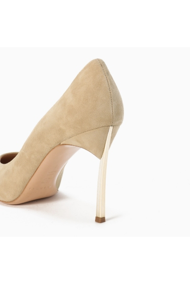 ���ѥ�ȥ�� �ɥ����������� ���饹 ��CASADEI(pre) 9cm Heel gold Heel Pumps �ܺٲ���4