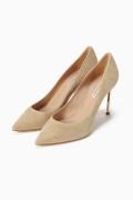 ���ѥ�ȥ�� �ɥ����������� ���饹 ��CASADEI(pre) 9cm Heel gold Heel Pumps