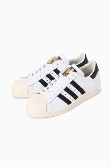 �ץ顼���� adidas �����ѡ������� 80s �ۥ磻�� A