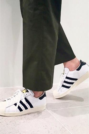 �ץ顼���� adidas SUPERSTAR 80s�� �֥�å�