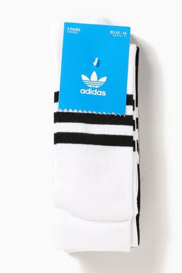 ���ƥ�����å� adidas THIN CREW SOCKS �������� K