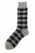�ե�����󥻥֥� ���ǥ��ե��� 417/ WOOL PLAID SOCKS