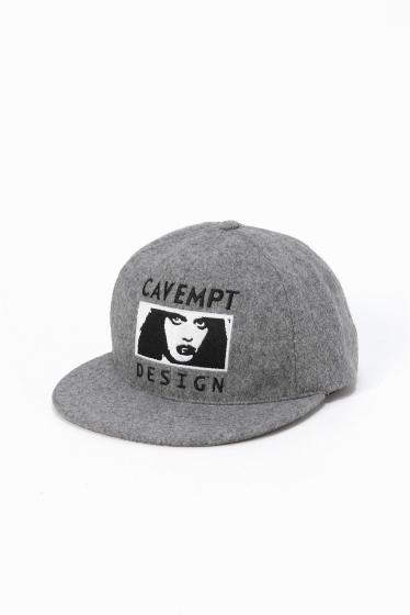 ���ƥ�����å� C.E DESIGN WOOL LOW CAP ���졼A