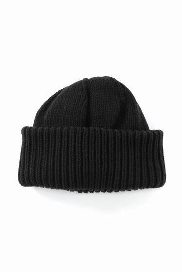 �ե�����֥� ���ǥ��ե��� CREPUSCULE / ����ץ����塼�� KNIT CAP �֥�å�