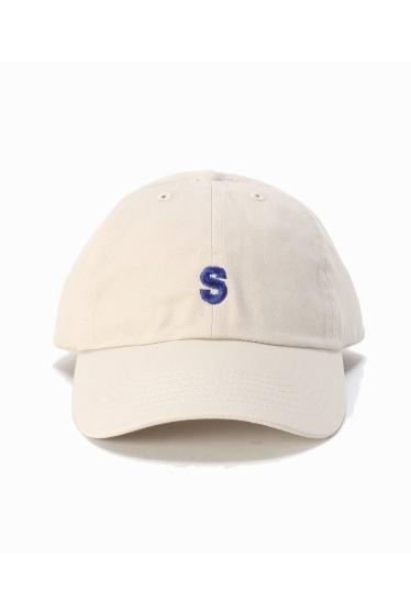 �ե�����֥� ���ǥ��ե��� SLAMCITY 417�٥å��奦 S LOGO CAP �ܺٲ���1