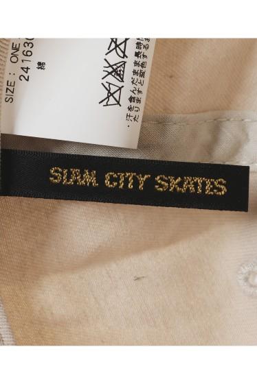 �ե�����֥� ���ǥ��ե��� SLAMCITY 417�٥å��奦 S LOGO CAP �ܺٲ���6