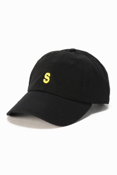 �ե�����֥� ���ǥ��ե��� SLAMCITY 417�٥å��奦 S LOGO CAP �֥�å�