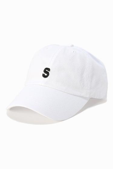 �ե�����֥� ���ǥ��ե��� SLAMCITY 417�٥å��奦 S LOGO CAP �ۥ磻��