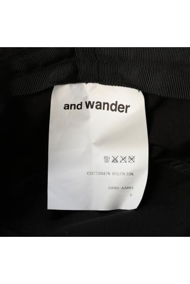 ���㡼�ʥ륹��������� ���塼�� and wander / ����ɥ�����: COTTON NYLON OX �ϥå� �ܺٲ���8