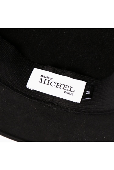 ���ѥ�ȥ�� �ɥ����������� ���饹 ��*MAISON MICHEL FELT HAT WIHT BANDANA �ܺٲ���6