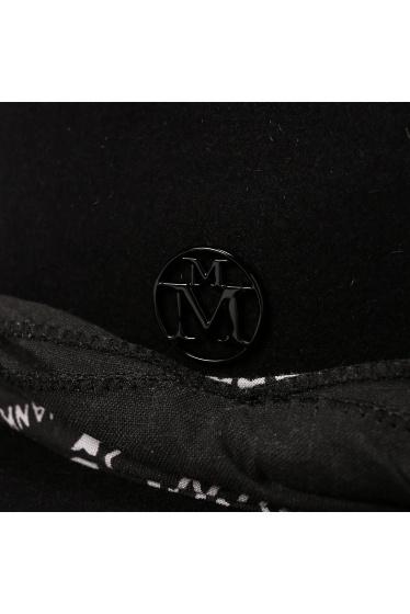 ���ѥ�ȥ�� �ɥ����������� ���饹 ��*MAISON MICHEL FELT HAT WIHT BANDANA �ܺٲ���9