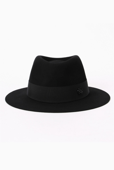 �����ԡ����ȥ��ǥ��� ��*MAISON MICHEL CLASSIC WOOL HAT �֥�å�