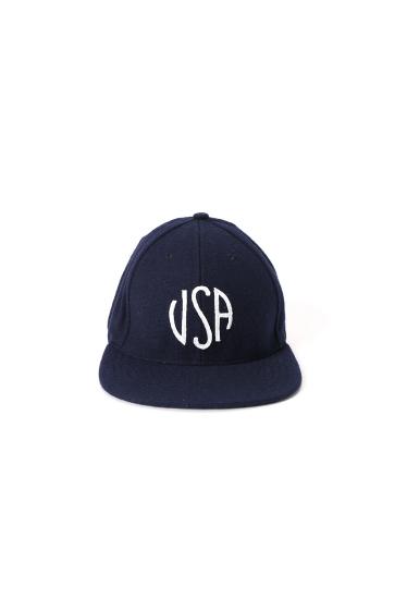 �����֥�������ʥ��ƥå� WOOL USA EMB CAP �ܺٲ���1