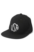 �����֥�������ʥ��ƥå� WOOL USA EMB CAP