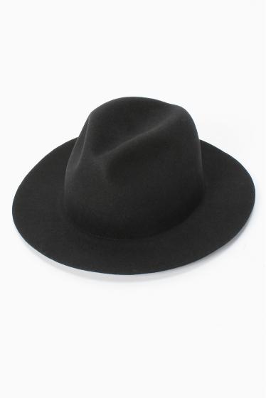 �����֥�������ʥ��ƥå� Mighty Shine ROBERT FEDORA HAT �֥�å�