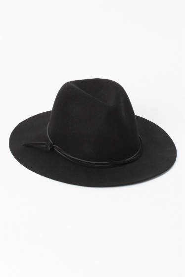 �١��������ȥå� INHERIT FELT HAT (LETHER CODE) �֥�å�