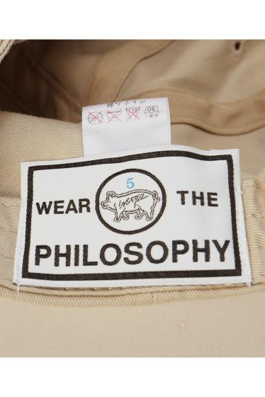������ WEAR THE PHILOSOPHY P.CAP �ܺٲ���9