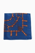 �ץ顼���� MANIPURI SCARF ORANGE CHAIN