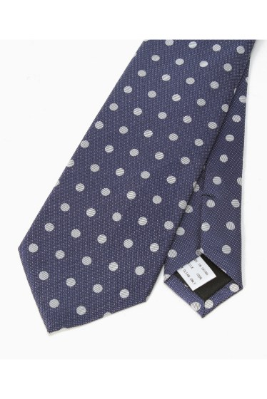 �١��������ȥå� SILK NAVY MIDDLE DOT �ܺٲ���1