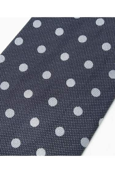 �١��������ȥå� SILK NAVY MIDDLE DOT �ܺٲ���3