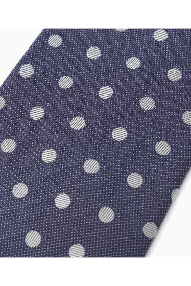 �١��������ȥå� SILK NAVY MIDDLE DOT �ܺٲ���4