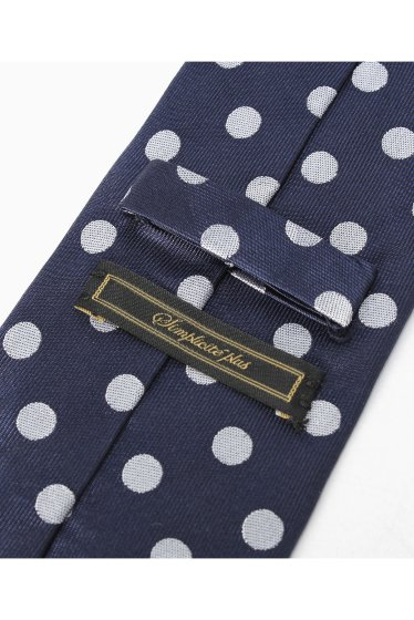 �١��������ȥå� SILK NAVY POLKA DOT �ܺٲ���2