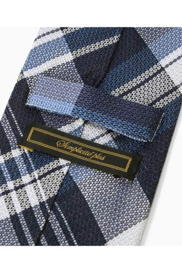 �١��������ȥå� SILK NAVY CHECK �ܺٲ���2