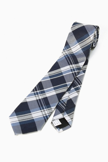 �١��������ȥå� SILK NAVY CHECK �֥롼