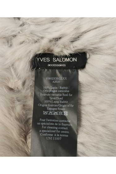 �ե졼���� YVES SALOMON�ե������̡��ɢ� �ܺٲ���3