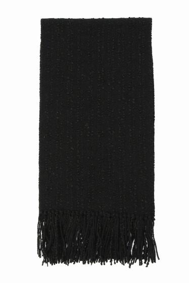 ���㡼�ʥ륹��������� STUDIO DONEGAL / ���������ɥͥ��� : 802 TWEED scarf �֥�å�