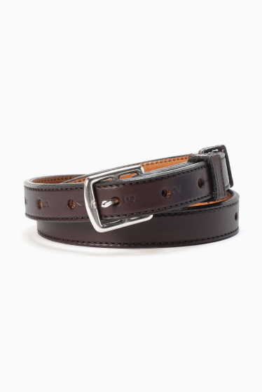 �����ܥ꡼ ������ toryleather number belt �֥饦��