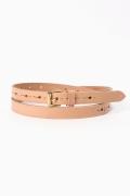 ���㡼�ʥ륹��������� JABEZ CLIFF/����٥ĥ����: Long Saddle Leather Belt 20