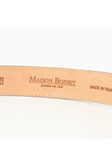 ���ѥ�ȥ�� �ɥ����������� ���饹 ��MAISON BOINET Paython Belt �ܺٲ���3