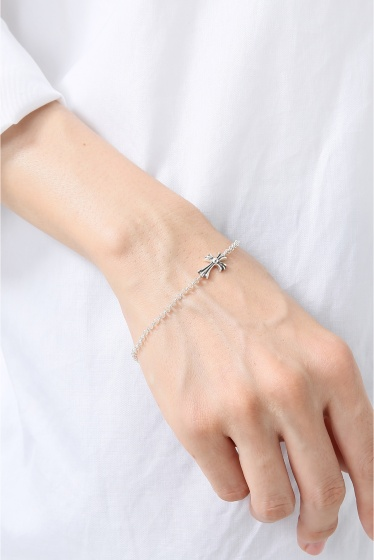 �ҥ�� CH.Bracelet-Chain Baby Fat Cross �ܺٲ���5