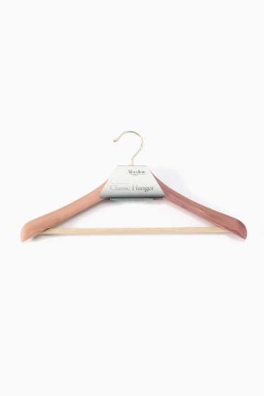 ���㡼�ʥ륹��������� �ե��˥��㡼 ��Woodlore�ۥ��åɥ? ���饷�å��������ϥ� Classic Ceder Hanger �ܺٲ���4